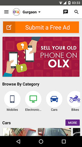 OLX.ua app for Android, download programs for phones and tablets for free.