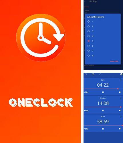 Besides Gif player Android program you can download OneClock - Alarm clock for Android phone or tablet for free.