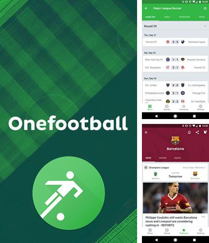 Besides Foreca weather Android program you can download Onefootball - Live soccer scores for Android phone or tablet for free.