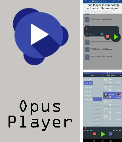 Descargar gratis Opus player - WhatsApp audio search and organize para Android. Apps para teléfonos y tabletas.