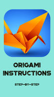 Téécharger Origami Instructions Step-by-step pour Android - le meilleur programme sur le portable et la tablette.