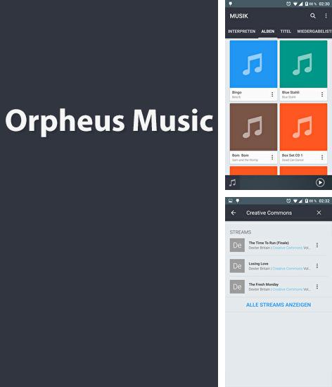 Besides NetX: Network Scan Android program you can download Orpheus Music Player for Android phone or tablet for free.
