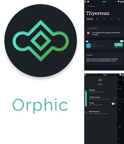Besides NordVPN: Best VPN fast, secure & unlimited Android program you can download Orphic for Android phone or tablet for free.