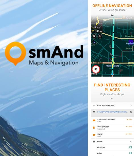 Descargar gratis Osmand: Maps and Navigation para Android. Apps para teléfonos y tabletas.