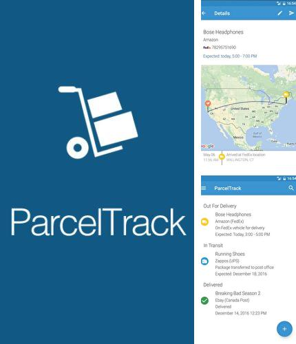 Descargar gratis ParcelTrack - Package tracker for Fedex, UPS, USPS para Android. Apps para teléfonos y tabletas.