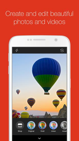 Screenshots of AliExpress program for Android phone or tablet.