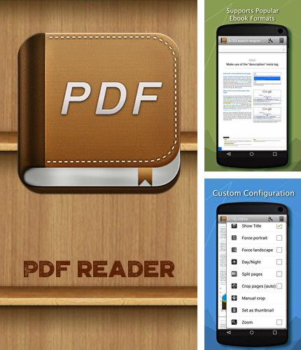 Besides File slick Android program you can download PDF Reader for Android phone or tablet for free.