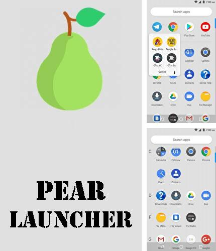 Download Pear launcher for Android phones and tablets.