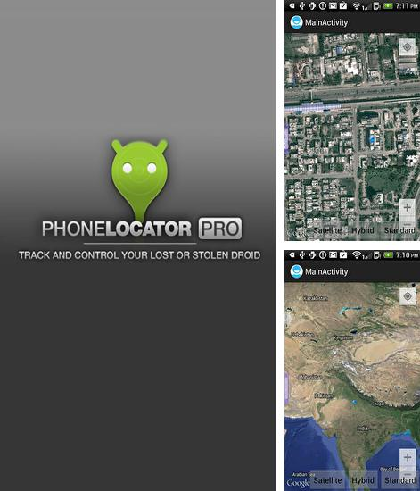 Besides Ava lockscreen Android program you can download Phone Locator for Android phone or tablet for free.