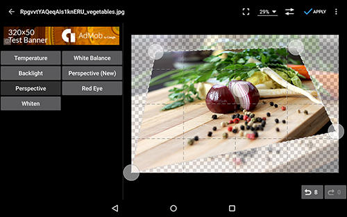 Photo editor app for Android, download programs for phones and tablets for free.