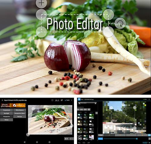 Besides Notepad Android program you can download Photo editor for Android phone or tablet for free.
