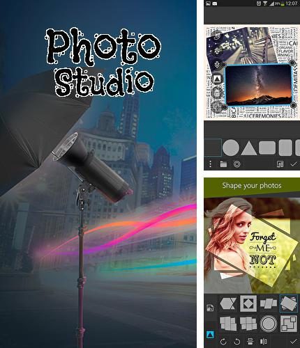 Besides Cornerfly Android program you can download Photo studio for Android phone or tablet for free.