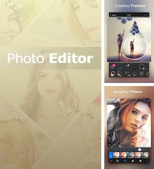 Besides Funtastic Face Android program you can download Photo Editor for Android phone or tablet for free.