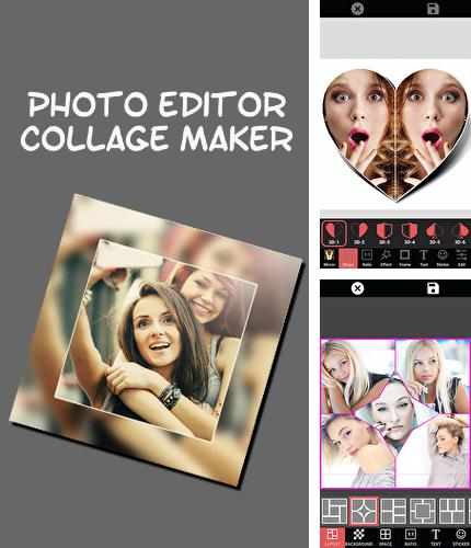 Besides Slacker radio Android program you can download Photo editor collage maker for Android phone or tablet for free.