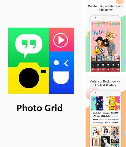 Neben dem Programm Recent notification für Android kann kostenlos Photo grid - Photo editor, video & photo collage für Android-Smartphones oder Tablets heruntergeladen werden.
