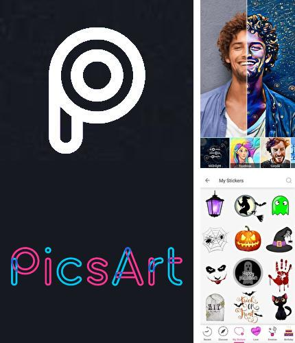 Besides Perfect viewer Android program you can download PicsArt photo studio: Collage maker & pic editor for Android phone or tablet for free.