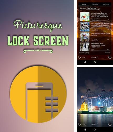 Download Picturesque lock screen for Android phones and tablets.