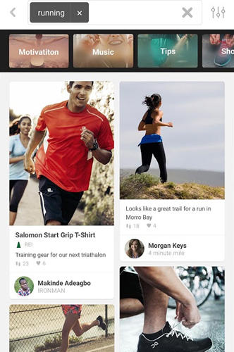 Pinterest app for Android, download programs for phones and tablets for free.