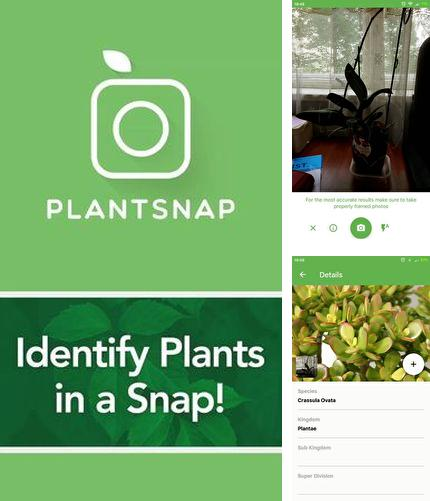 Además del programa Bills Reminder para Android, podrá descargar PlantSnap - Identify plants, flowers, trees & more para teléfono o tableta Android.
