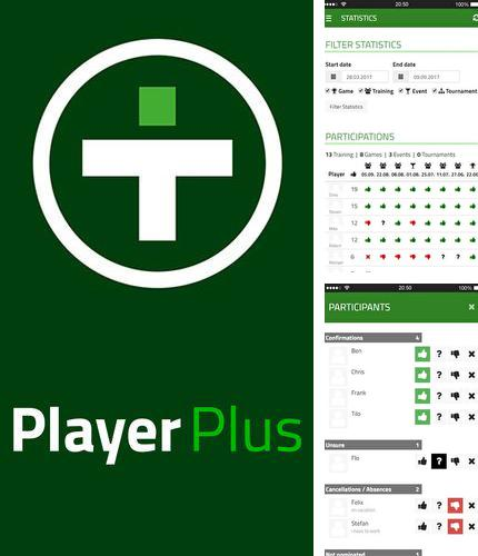 Besides Assistive zoom Android program you can download PlayerPlus - Team management for Android phone or tablet for free.