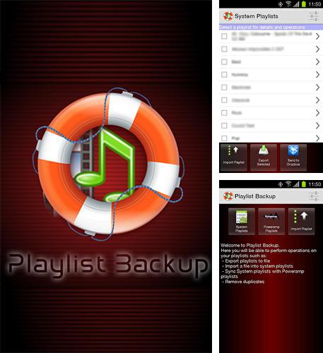Besides Any.do: To-do list, calendar, reminders & planner Android program you can download Playlist backup for Android phone or tablet for free.