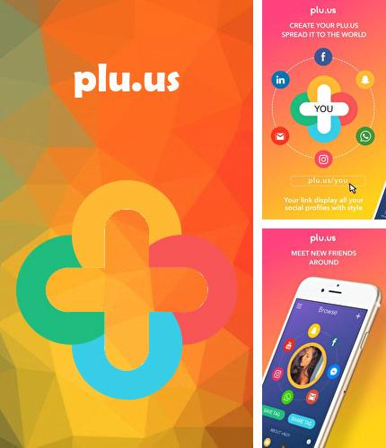 Descargar gratis Plu.us – Your online world in one word para Android. Apps para teléfonos y tabletas.