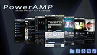 Download Poweramp for Android - best program for phone and tablet.