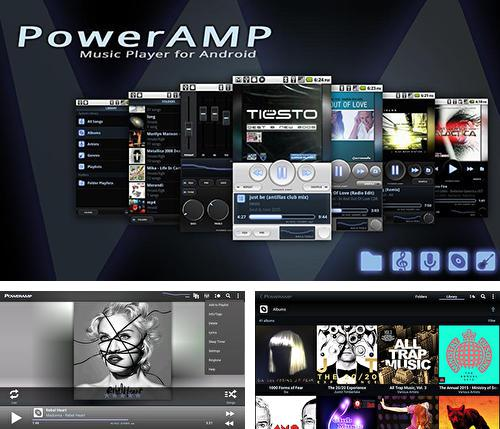 Besides PlayerPlus - Team management Android program you can download Poweramp for Android phone or tablet for free.