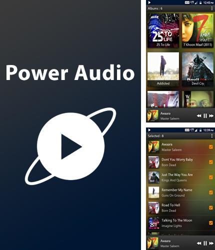 Descargar gratis PowerAudio: Music Player para Android. Apps para teléfonos y tabletas.