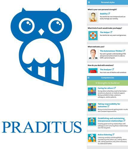 Besides Z launcher Android program you can download Praditus: Personality test for Android phone or tablet for free.