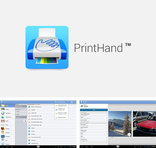 Besides SoundCloud Android program you can download PrintHand for Android phone or tablet for free.
