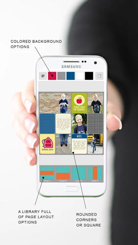 Project Life: Scrapbooking app for Android, download programs for phones and tablets for free.