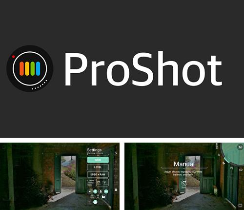 Besides EDGE MASK - Change to unique notification design Android program you can download ProShot for Android phone or tablet for free.