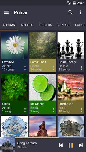 Download Pulsar - Music player for Android for free. Apps for phones and tablets.