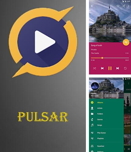 Besides Birthdays Android program you can download Pulsar - Music player for Android phone or tablet for free.