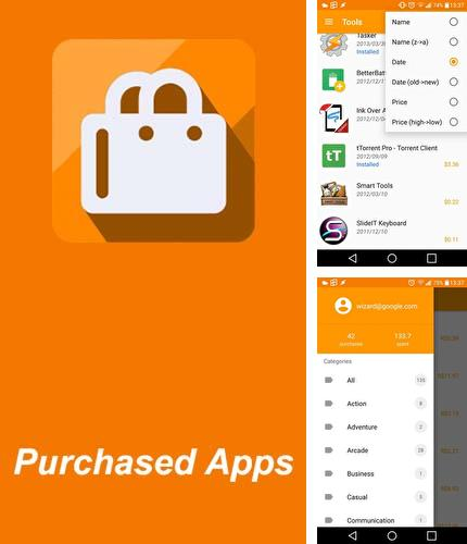 Besides Go days calendar Android program you can download Purchased apps: Restore your paid apps for Android phone or tablet for free.