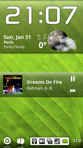 Pure music widget app for Android, download programs for phones and tablets for free.