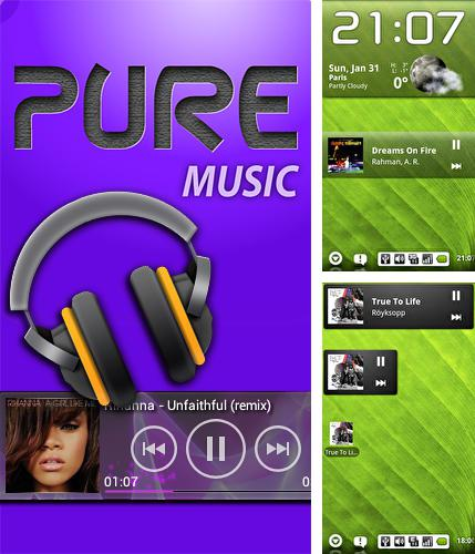 Download Pure music widget for Android phones and tablets.