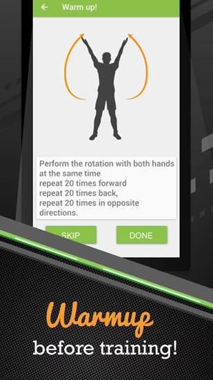 Pushups Workout app for Android, download programs for phones and tablets for free.