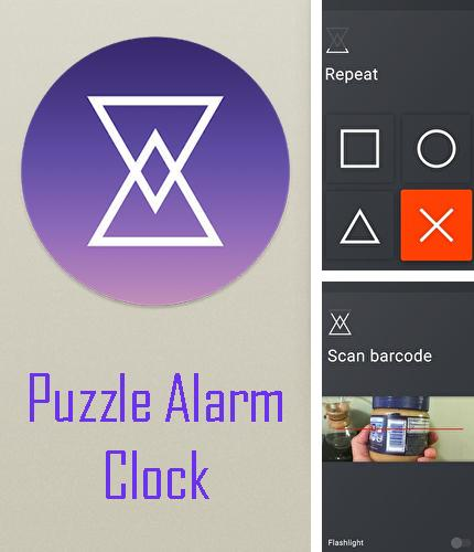Download Puzzle alarm clock for Android phones and tablets.