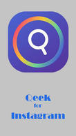 Download Qeek for Instagram - Zoom profile insta DP for Android - best program for phone and tablet.