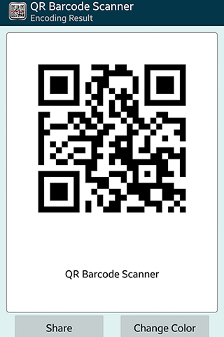 Capturas de tela do programa QR barcode scaner pro em celular ou tablete Android.