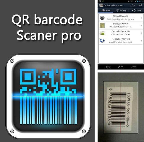 Download QR barcode scaner pro for Android phones and tablets.