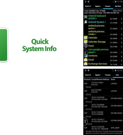 Download Quick System Info for Android phones and tablets.