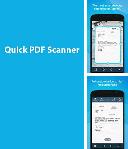 Download Quick Scanner PDF for Android phones and tablets.