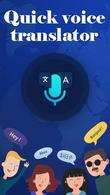 Download Quick voice translator for Android - best program for phone and tablet.