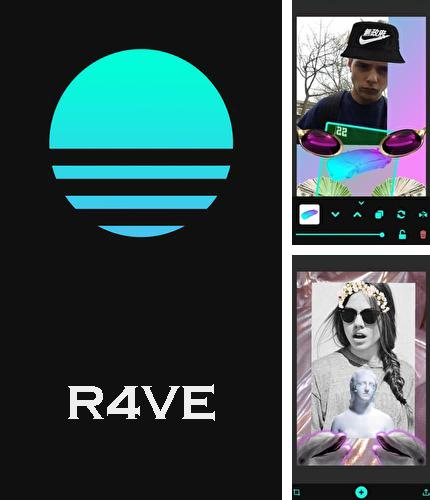 Besides Funtastic Face Android program you can download R4VE - Photo editor, camera, stickers and filters for Android phone or tablet for free.