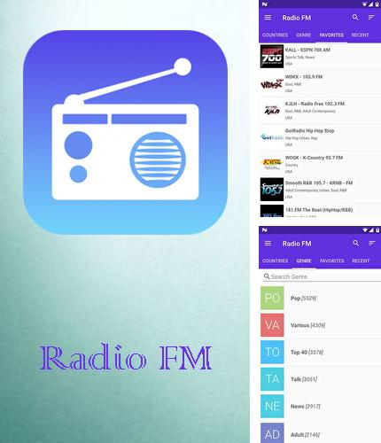 Besides PayPal Android program you can download Radio FM for Android phone or tablet for free.