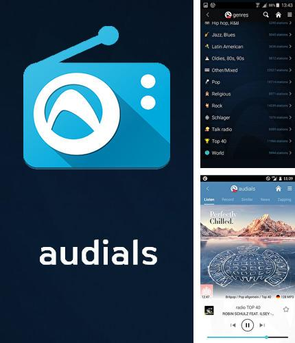 Besides Sense v2 flip clock and weather Android program you can download Audials Radio for Android phone or tablet for free.