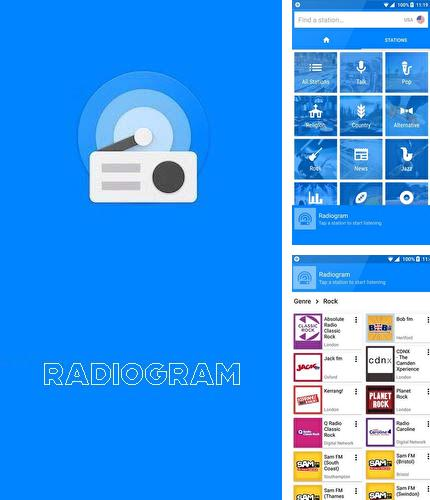 Besides Meteor swipe - Edge sidebar launcher Android program you can download Radiogram - Ad free radio for Android phone or tablet for free.
